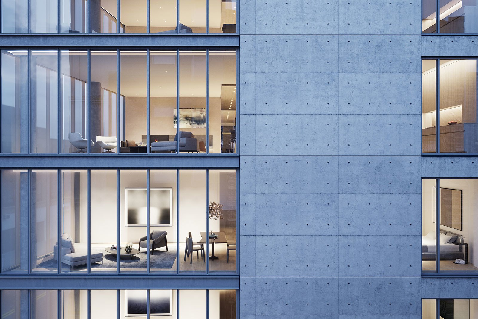 A Look Into NYC\'s 152 Elizabeth Street, Tadao Ando\'s First ...