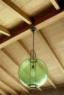 Yeon repurposed a Japanese fishing buoy into a lighting fixture, which became the inspiration for the Yeon Pendant light from Rejuvenation. The company donates a percentage of the proceeds to the University of Oregon's John Yeon Center.