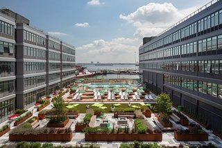 Urby, a development in Staten Island, offers its residents ample outdoor space.
