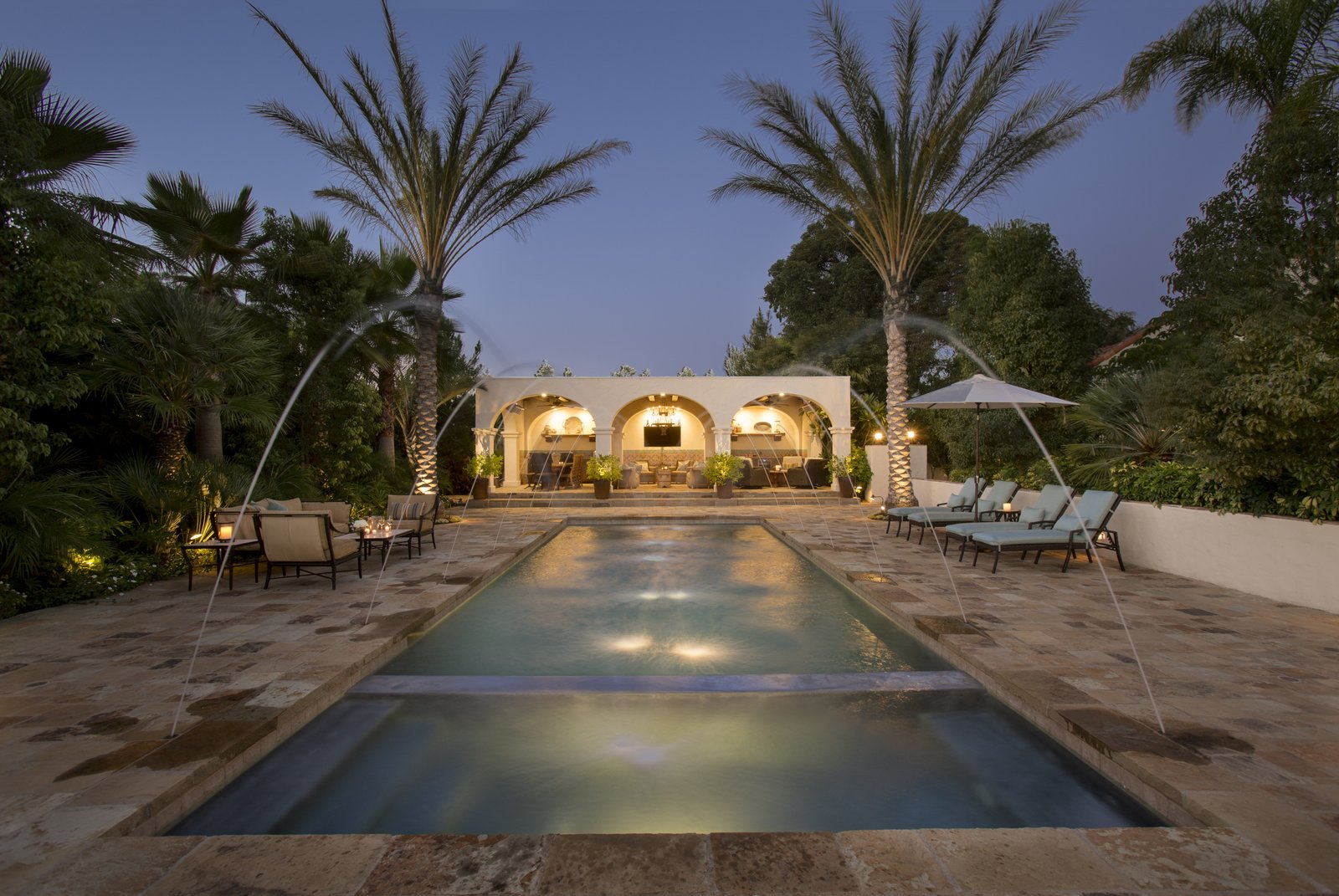 Photo 1 of 9 in Just Listed at $4M, This Spanish Colonial Revival in Southern California Promises Resort-Like Living