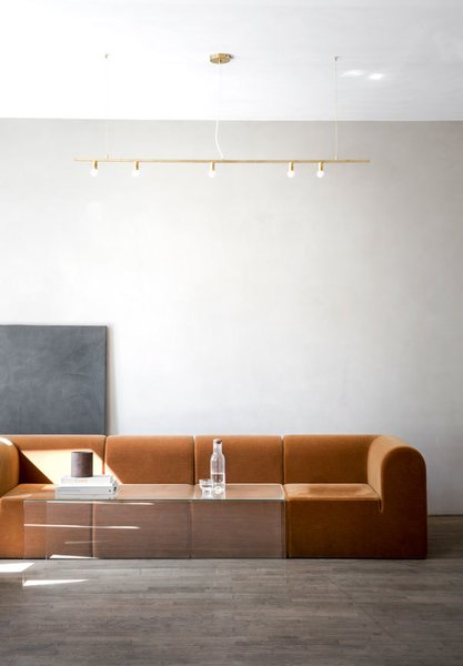 Living Room and Ceiling Lighting Every single nuance of the space has been carefully selected to match the tone of Kinfolk's credo of slow living.  Photo 4 of 12 in Spotlight on Multidisciplinary Danish Design Studio, Norm Architects