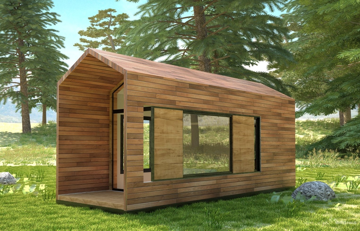 Kamp-hause 160-240-square-feet.  Photo 5 of 10 in These Customizable Modular Homes Can Make Your Tiny House Dreams Come True
