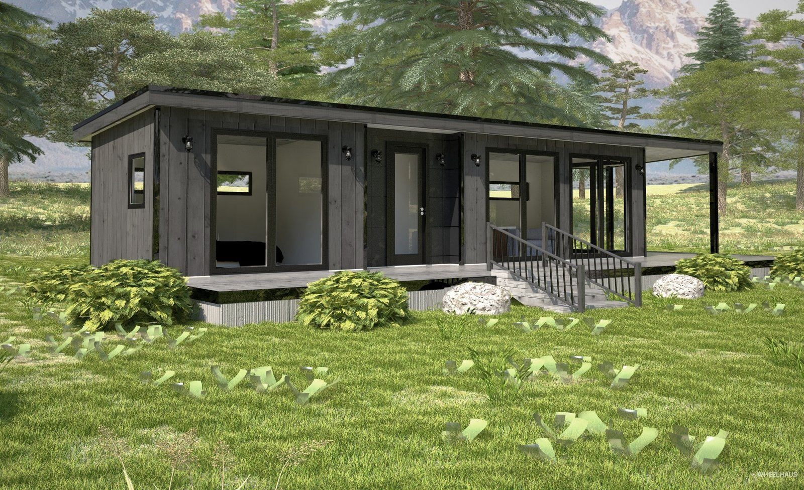 The Light Haus, 400-square-feet.  Photo 7 of 10 in These Customizable Modular Homes Can Make Your Tiny House Dreams Come True