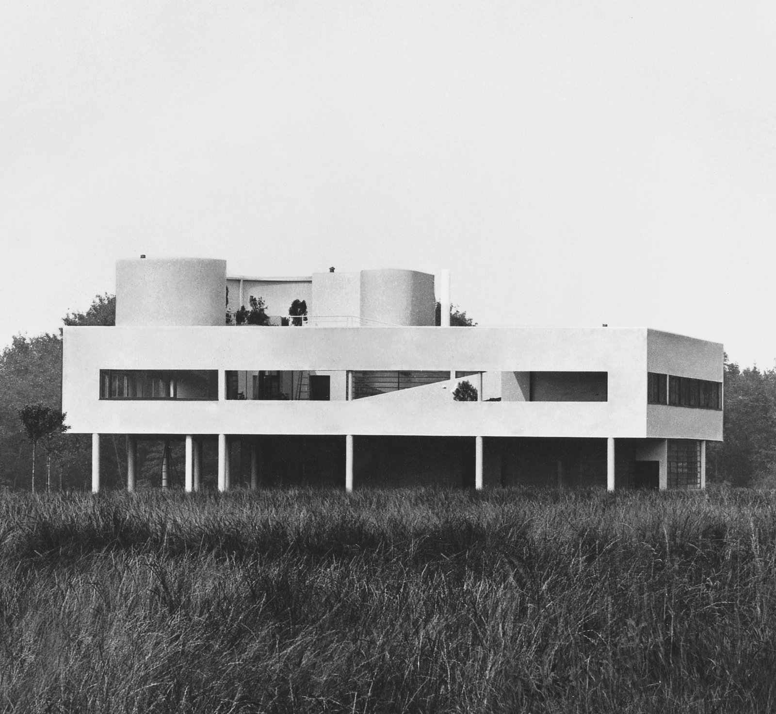 Le Corbusier: Villa Savoye in Poissy, France, 1928-1931  Photo 4 of 11 in Dive Into a Visually Stunning Book That Celebrates Modernist Architecture and its Evolution