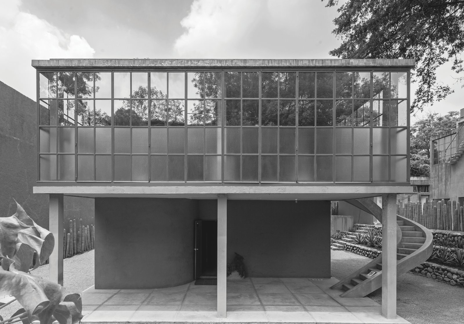 Outdoor Juan O'Gorman: Casa O'Gorman in Mexico City, Mexico, 1929  Photo 7 of 11 in Dive Into a Visually Stunning Book That Celebrates Modernist Architecture and its Evolution