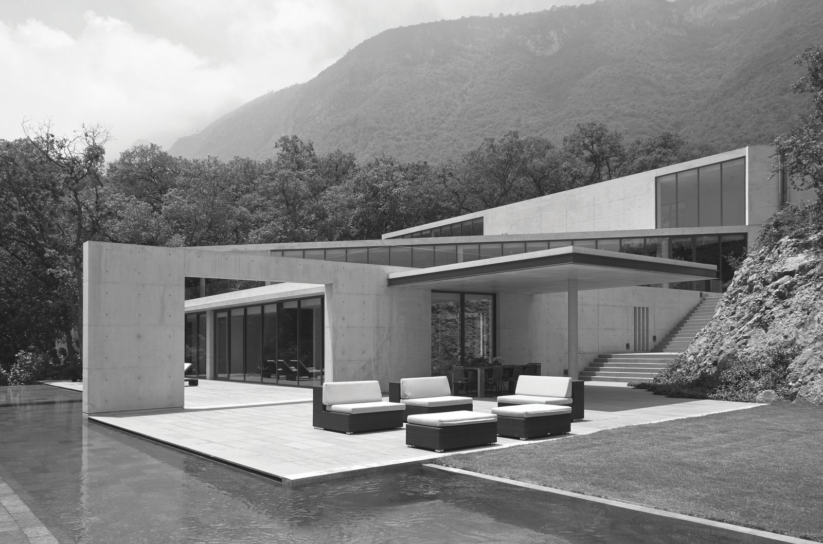 Tadao Andao: House in Monterrey in Monterrey, Mexico, 2011  Photo 11 of 11 in Dive Into a Visually Stunning Book That Celebrates Modernist Architecture and its Evolution