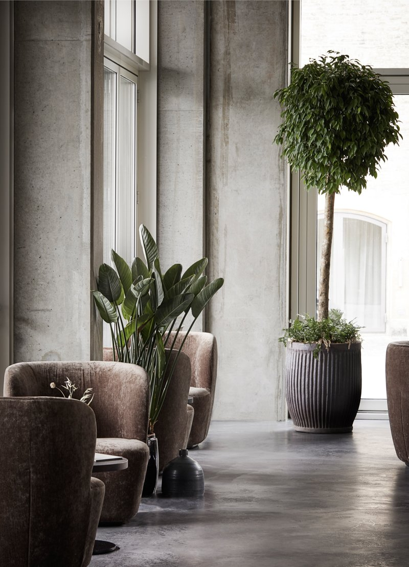 Floor-to-ceiling windows offer views of the canal and the old city center beyond.  Photo 9 of 12 in Spotlight on Multidisciplinary Danish Design Studio, Norm Architects