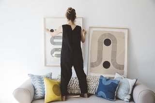 The Block Shop Sisters Launch Their Framed Woodblock Prints at Rachel Comey's L.A. Boutique