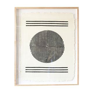 """The Block Shop Sisters Launch Their Framed Woodblock Prints at Rachel Comey's L.A. Boutique - Photo 5 of 8 - """"Temple"""" is the latest iteration of Block Shop's ongoing exploration of Sol LeWitt's wall drawings."""