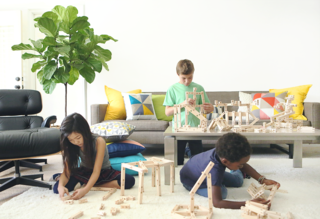 Foster Your Child's Creativity With These Modern, Architectural Building Toys For Kids