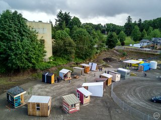 How Tiny Pods Are the Future For Portland's Houseless Community