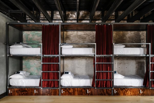 A New Experiential Hostel in Austin Offers Unique Lodging in a Restored Railway Hotel - Photo 6 of 16 -