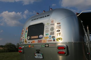 "For Airstream fanatics, there are caravans and rallies all over the world, including an annual ""Alumapalooza"" every summer at the Airstream factory in Ohio that brings together fans from all over the country. The trailers are in high demand—so much so that Airstream factories can't keep up. On average, customers have to wait up to three months to receive their vehicles after placing an order."