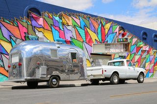 Shown here is Bambi II, a rare beauty owned by veteran Airstream DIY-er Kristiana Spaulding.