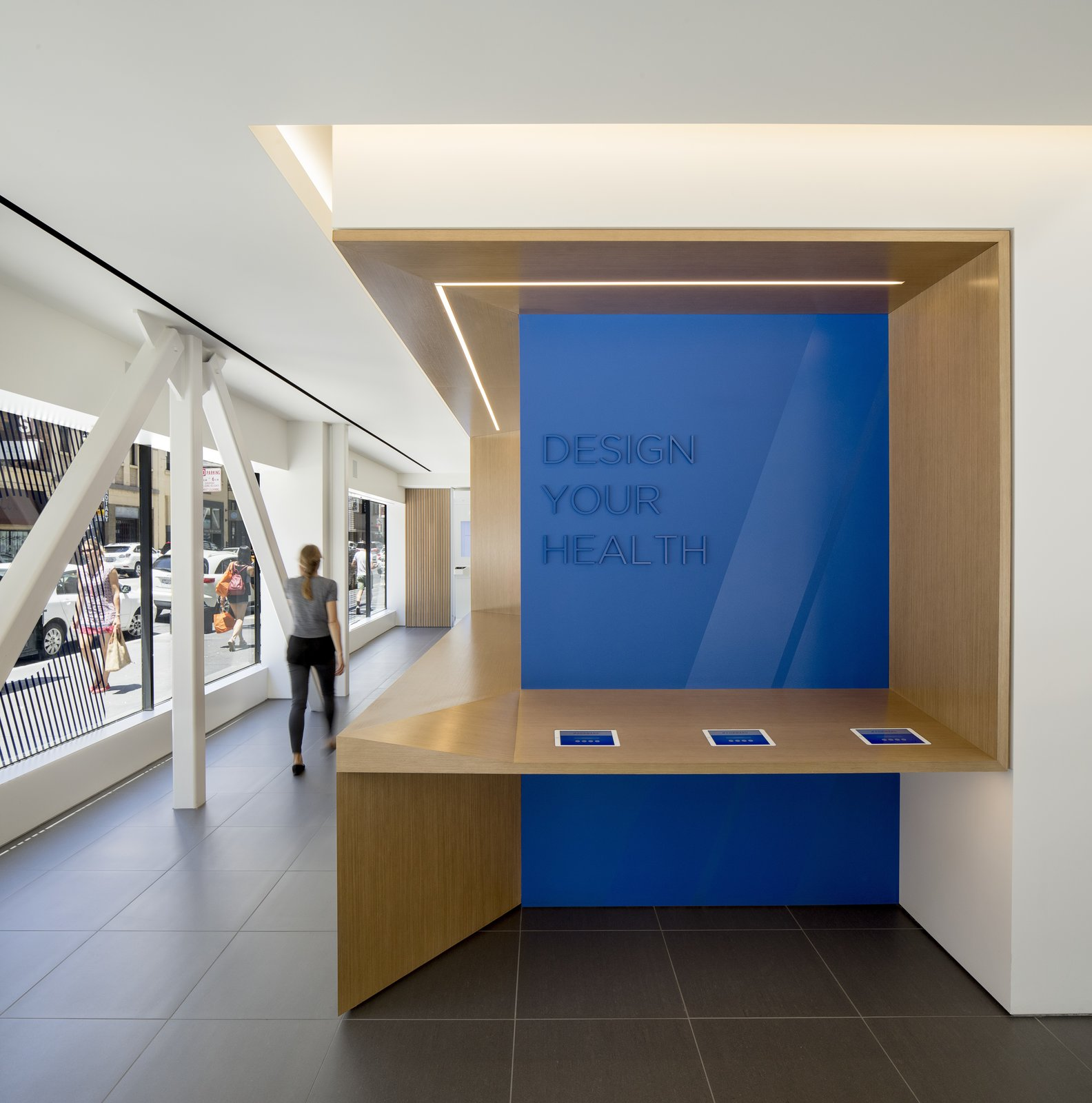 Office It is not a coincidence that the interiors more closely resemble an Apple store than a traditional doctor's office.  Photo 4 of 12 in A Healthcare Start-Up Combines Modern Design With Top-Notch Technology and Care