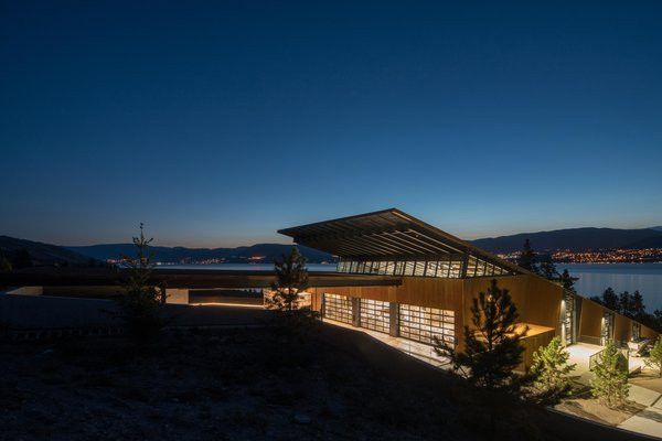 The winery is a testament to proprietor Anthony von Mandl's commitment to the local Okanagan region.