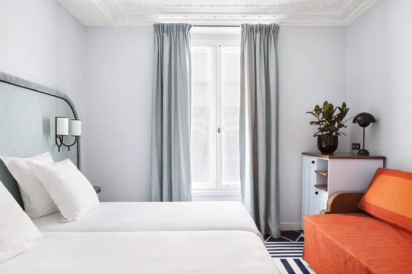 Tour a Charming Parisian Hotel That Just Got an Amazing Makeover - Photo 7 of 18 -