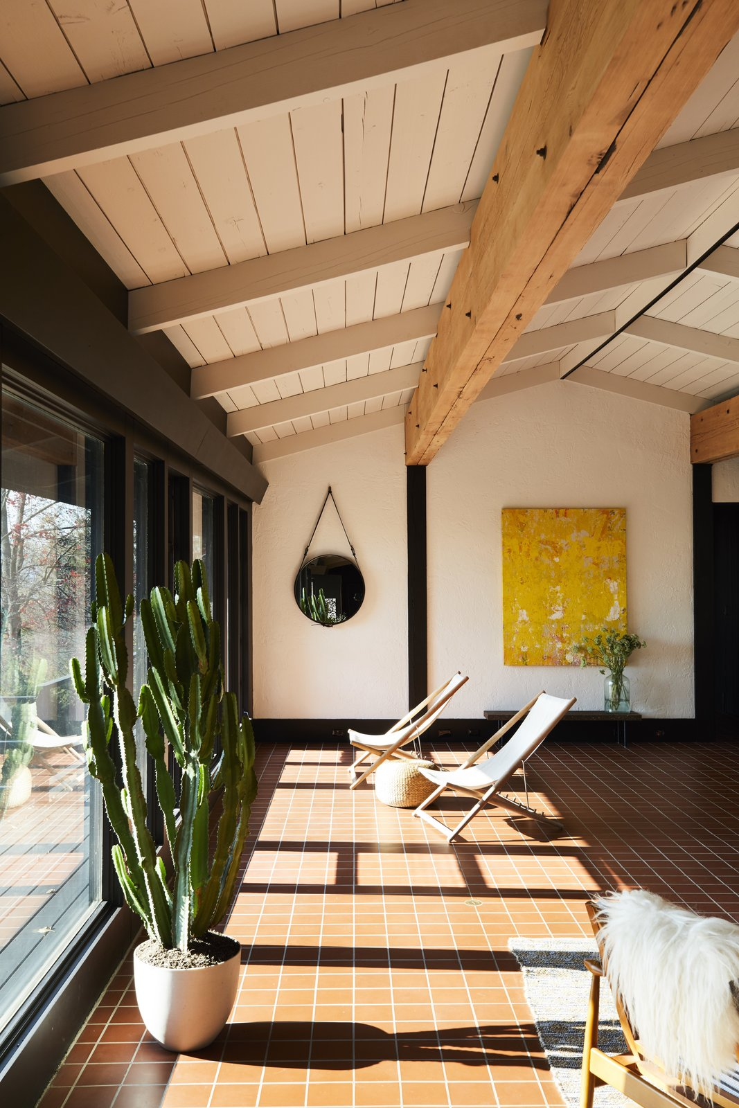 Photo 4 Of 15 In A Hudson Valley Home 39 S Renovation Is Guided By Its Best Midcentury Feature Dwell