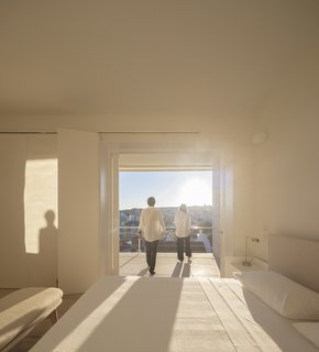 A Luminous Renovation in Portugal Creates a Bright and Airy Apartment - Photo 13 of 15 -