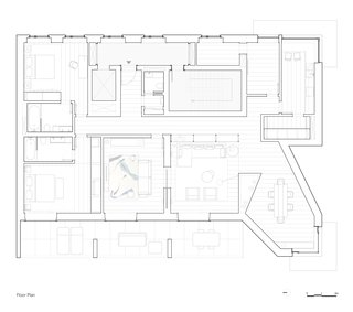 A Luminous Renovation in Portugal Creates a Bright and Airy Apartment - Photo 15 of 15 - Renovation floor plan