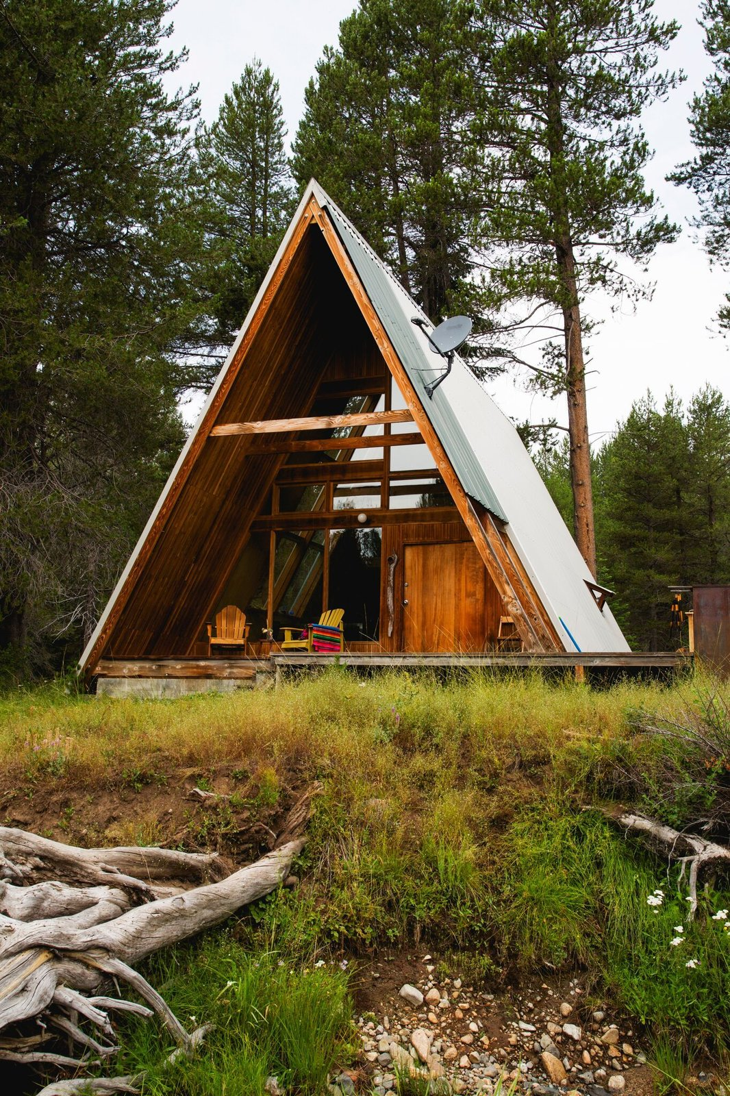 Exterior, Cabin Building Type, Wood Siding Material, and A-Frame RoofLine  Photos from A New Book Reveals Some of the World's Most Incredible Vacation Rentals