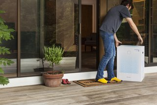 Instantly Make Your Home Healthier With Airmega - Photo 1 of 9 - Fresh air is important and 90 percent of the air that goes in your lungs is indoor air. Airmega makes sure that the indoor air you breathe is as clean as it can be.