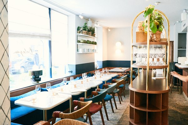 A New Israeli Eatery in Paris Serves Up Mediterranean Style