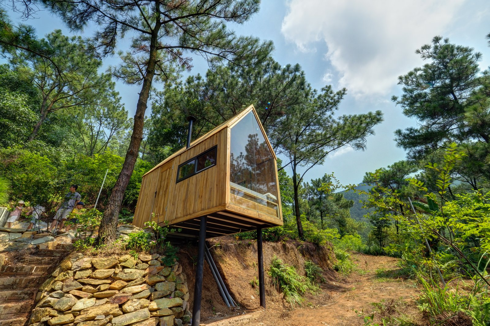 Photo 2 Of 15 In This Minimalist Cabin In Vietnam Is The