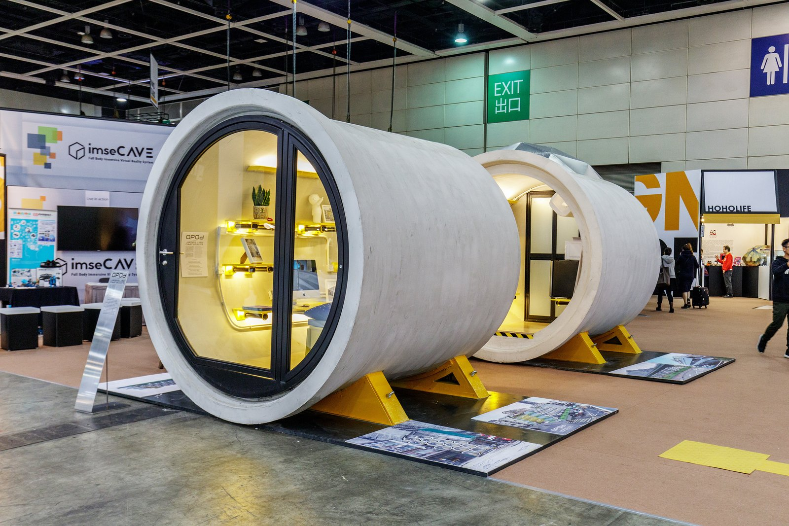Photo 4 of 16 in these tiny modular homes are made of for Water pipes for home