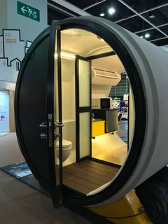 These Tiny, Modular Homes Are Made of Concrete Water Pipes - Photo 8 of 15 -