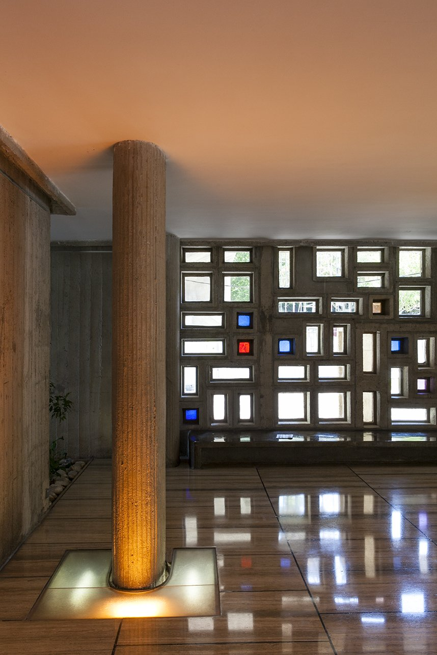 Hallway  Photos from You Can Rent a Renovated Studio in Le Corbusier's Famed Cité Radieuse