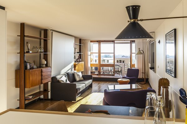 You Can Rent a Renovated Studio in Le Corbusier's Famed Cité Radieuse - Photo 12 of 12 -