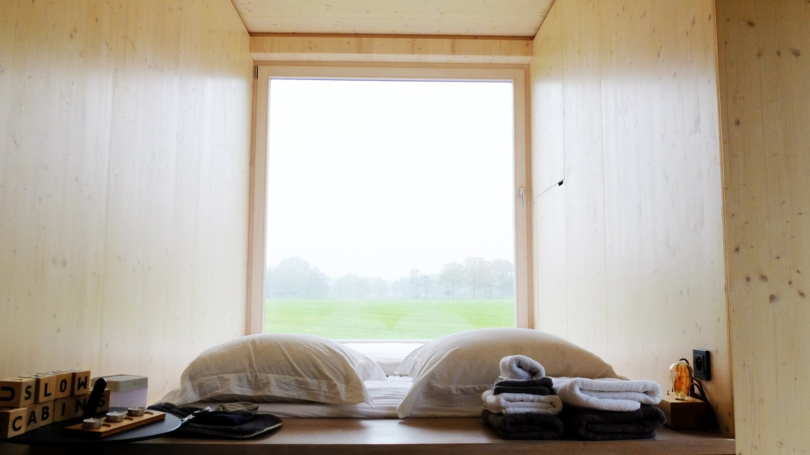 Windows and Casement Window Type  Photo 10 of 12 in These Off-the-Grid Cabins in Belgium Keep Their Locations Secret Until You Book