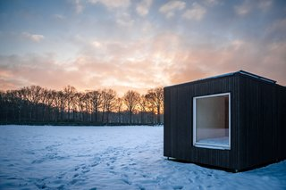 These Off-the-Grid Cabins in Belgium Keep Their Locations Secret Until You Book - Photo 3 of 11 -