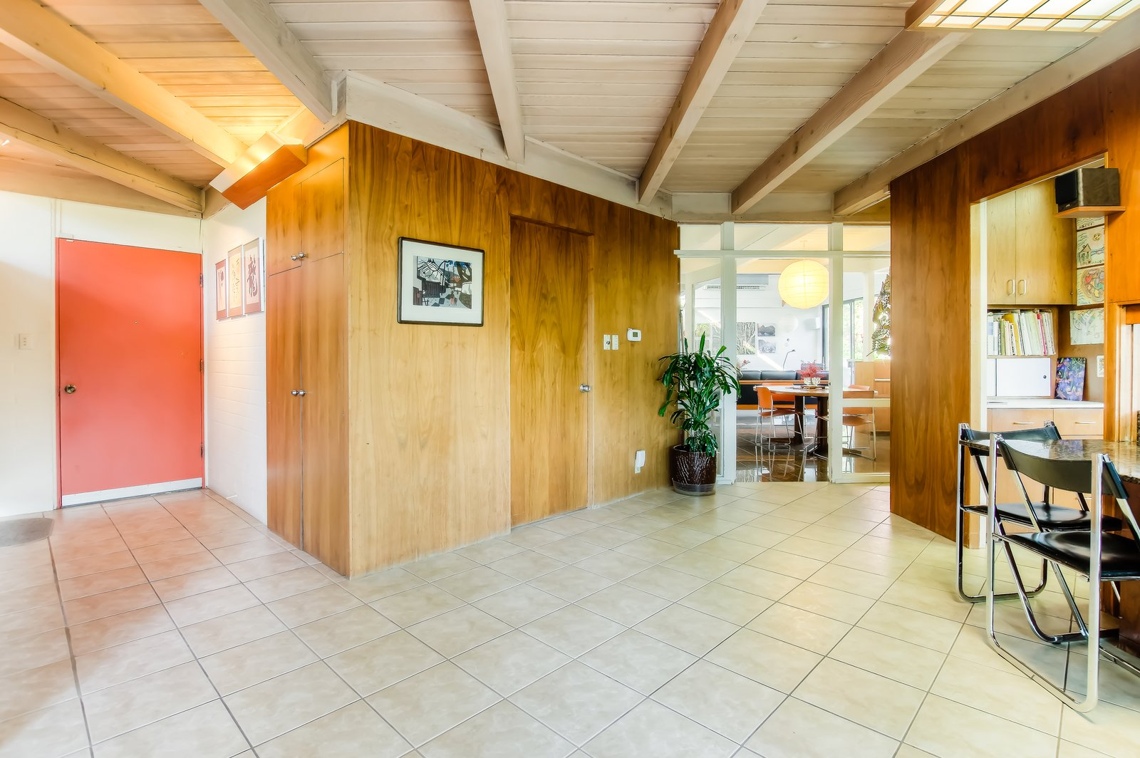 Hallway  Photo 4 of 10 in An Exceptional Midcentury by Case Study Architect Pierre Koenig Hits the Market