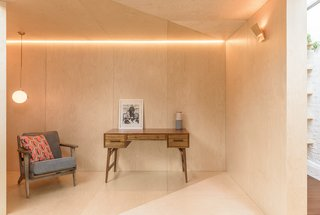 Every surface of the Triangle is clad in a high-quality birch plywood.