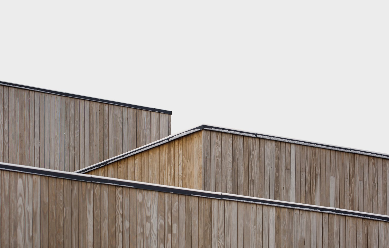 Exterior, Flat RoofLine, Wood Siding Material, and House Building Type  Photo 15 of 18 in A Cubic Dwelling in Norway Just Oozes Hygge