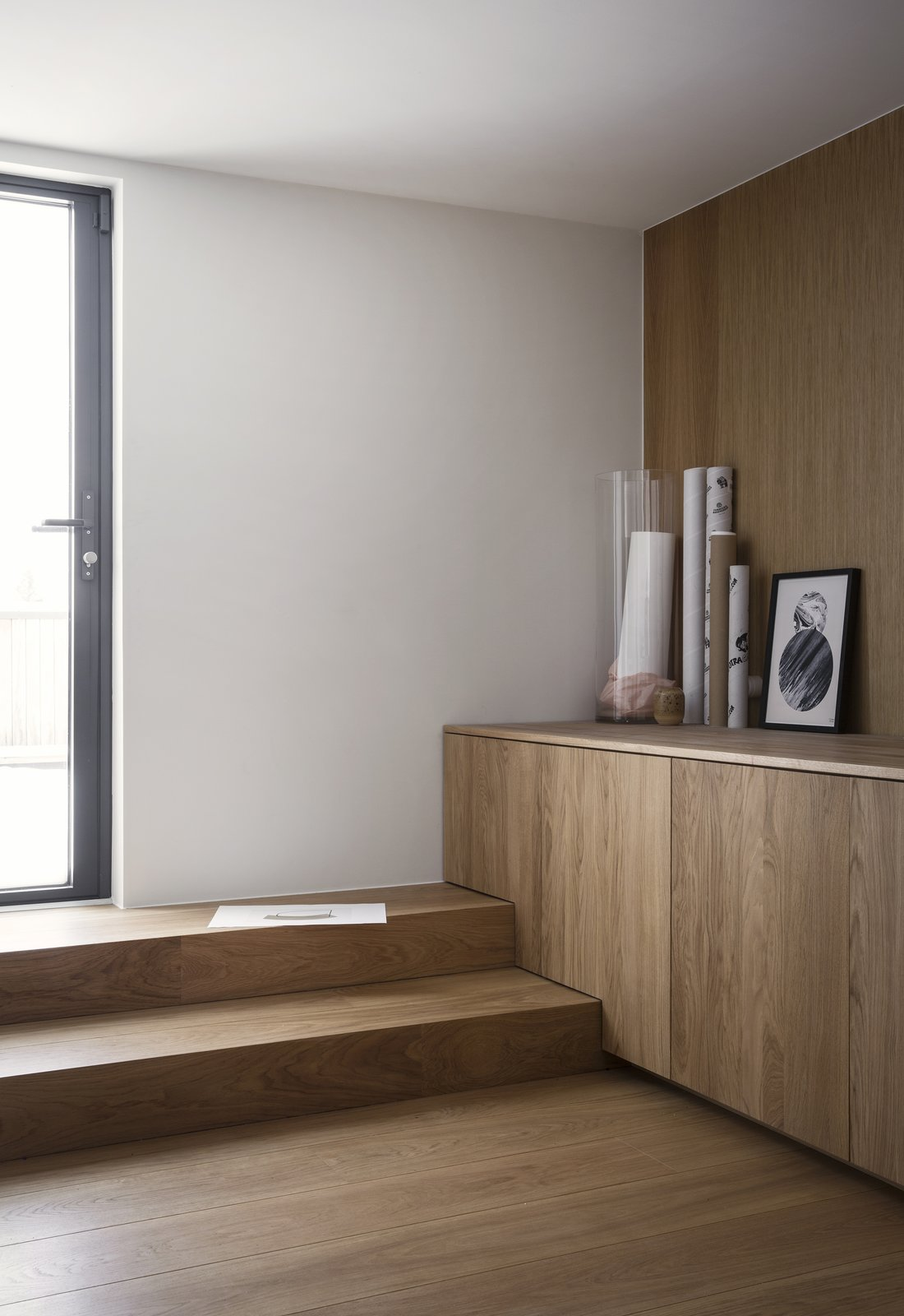 Storage Room and Cabinet Storage Type  Photo 11 of 18 in A Cubic Dwelling in Norway Just Oozes Hygge
