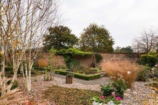 The walled-in garden