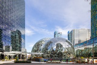 Meet Downtown Seattle's Newest Landmark: The Amazon Spheres