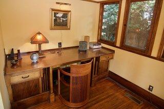 The original built-in desk