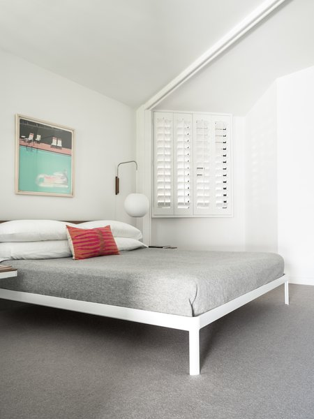 One of the bedrooms.  Photo 12 of 19 in Own William Krisel's Palm Springs Pod House For $2.5M