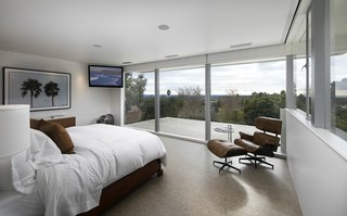 The upstairs suite offers sweeping wraparound views.