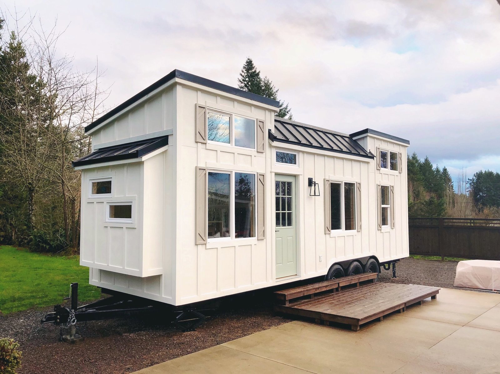 tiny house companies. The Recently Completed Coastal Craftsman From Oregon-based Handcrafted Is Now For Sale And Tiny House Companies C