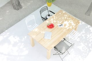 Rent This Modular Micro Cabin For Your Next Grecian Getaway - Photo 10 of 13 - The patio enables guests to dine al fresco.