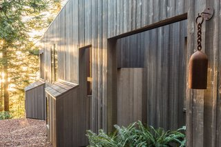 The timber-clad exterior of the Hines House projects a strong sense of place.