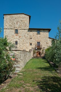 You Can Own Michelangelo's Former Tuscan Villa For $9.3M - Photo 1 of 11 - A front view of the historic villa.