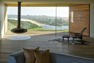 The minimalist interiors complement the views, rather than detract from them.