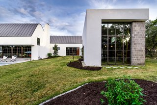 Own This Alluring Sculptural Abode in Austin For $3.1M - Photo 20 of 21 - Another view of the studio and home.