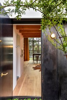 A separate studio provides a hideaway for work or creative pursuits.